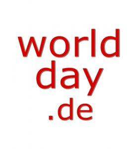 Welttage bei worldday.de