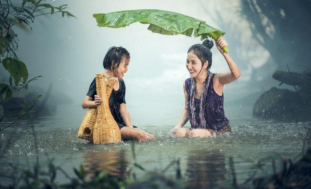 Wasserfest Kambodscha