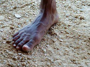 Aborigines Fuß